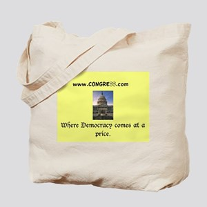 Congress Design Tote Bag