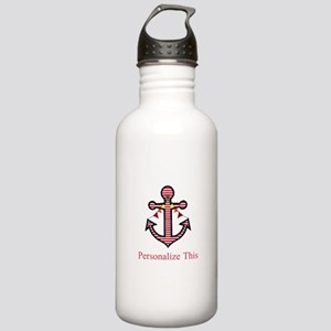 Personalized Nautical Anchor Water Bottle