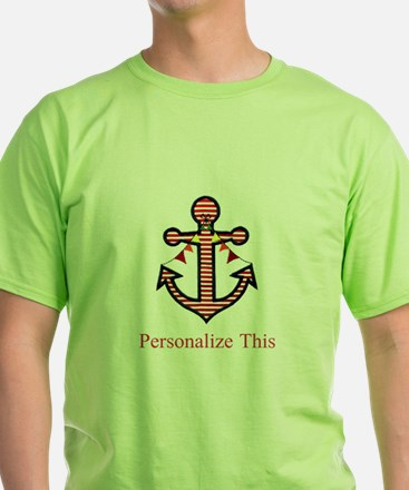 Personalized Nautical Anchor T-Shirt