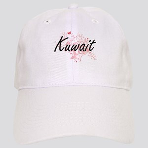Kuwait Artistic Design with Butterflies Cap
