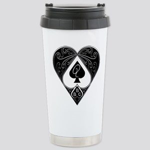 BBC & Queen of Spades 2 Travel Mug