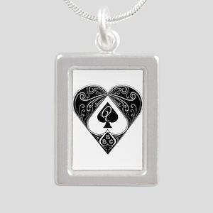 Bbc & Queen Of Spades 2 Necklaces