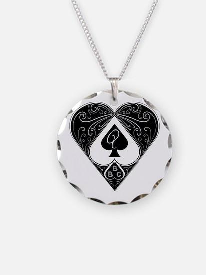 Bbc & Queen Of Spades 2 Necklace