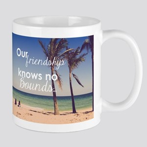 Friendship Knows No Bou Stainless Steel Travel Mug