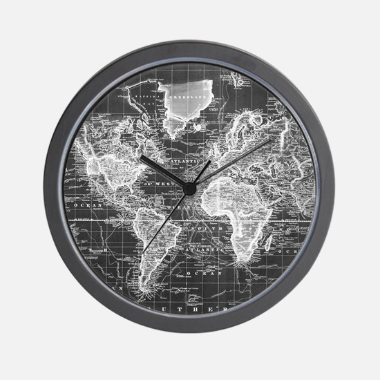 Cute Places Wall Clock