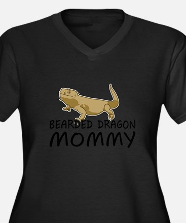 Bearded Dragon Mommy Plus Size T-Shirt