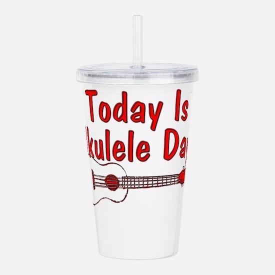 Ukulele Day Acrylic Double-wall Tumbler