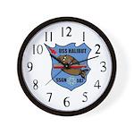 USS Halibut (SSGN 587) Wall Clock