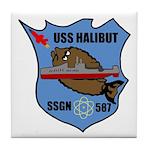 USS Halibut (SSGN 587) Tile Coaster