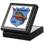 USS Halibut (SSGN 587) Keepsake Box
