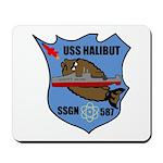 USS Halibut (SSGN 587) Mousepad