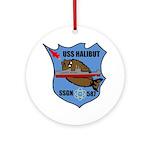 USS Halibut (SSGN 587) Ornament (Round)