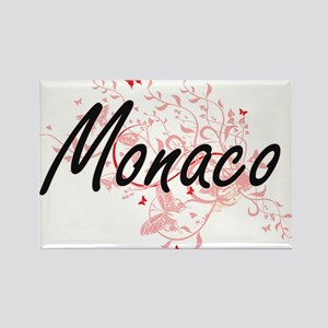 Monaco Artistic Design with Butterflies Magnets