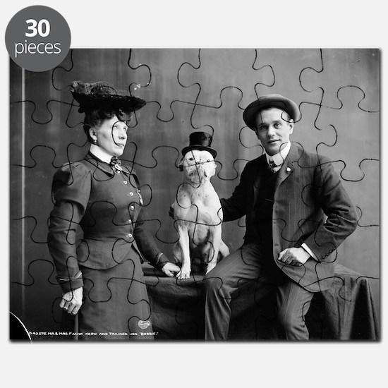 Cute Vintage dog Puzzle