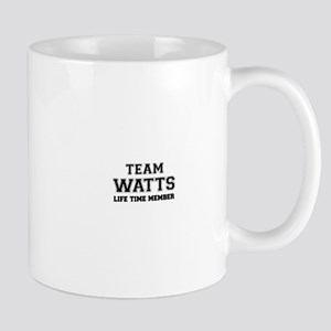 Team WATTS, life time member Mugs