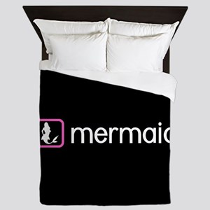 Mermaid (Pink) Queen Duvet