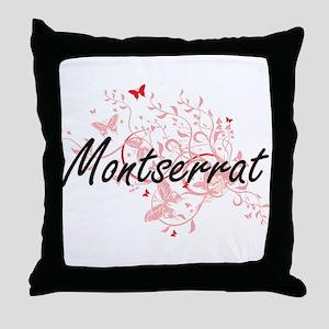 Montserrat Artistic Design with Butte Throw Pillow