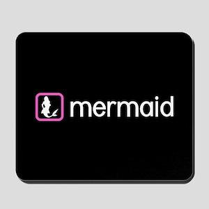 Mermaid (Pink) Mousepad