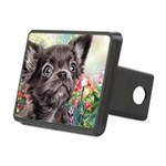 Chihuahua Painting Hitch Cover