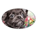 Chihuahua Painting Sticker