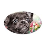 Chihuahua Painting Wall Decal