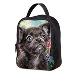 Chihuahua Painting Neoprene Lunch Bag