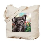 Chihuahua Painting Tote Bag