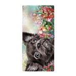Chihuahua Painting Beach Towel