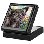 Chihuahua Painting Keepsake Box