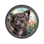 Chihuahua Painting Wall Clock