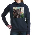 Chihuahua Painting Women's Hooded Sweatshirt