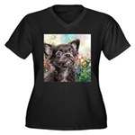 Chihuahua Painting Plus Size T-Shirt