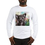 Chihuahua Painting Long Sleeve T-Shirt