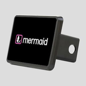 Mermaid (Pink) Rectangular Hitch Cover