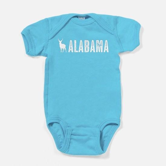 Deer: Alabama Baby Bodysuit