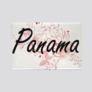 Panama Artistic Design with Butterflies Magnets
