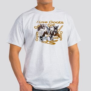 I love Goat Breeds Light T-Shirt