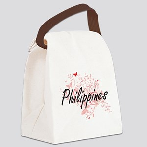 Philippines Artistic Design with Canvas Lunch Bag