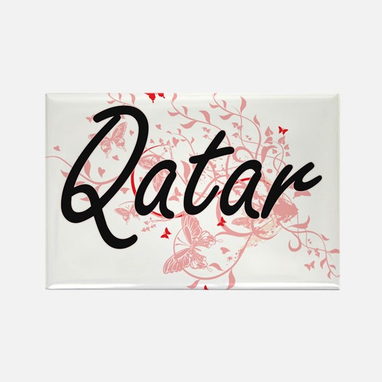 Qatar Artistic Design with Butterflies Magnets