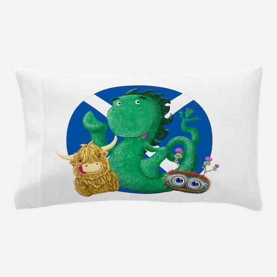 Scottish Friends Pillow Case