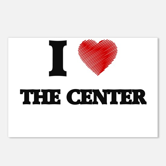 I love The Center Postcards (Package of 8)