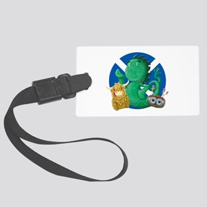 Scottish Friends Large Luggage Tag