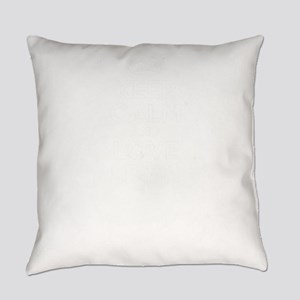Keep Calm and Love EDITH Everyday Pillow