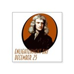 Enlightenment Day Isaac Newton Sticker