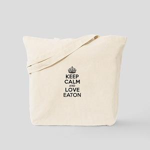 Keep Calm and Love EATON Tote Bag
