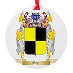 Sey Round Ornament