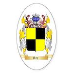 Sey Sticker (Oval 10 pk)