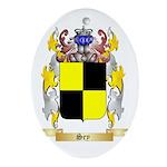 Sey Oval Ornament