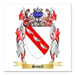 Sewill Square Car Magnet 3