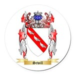 Sewill Round Car Magnet